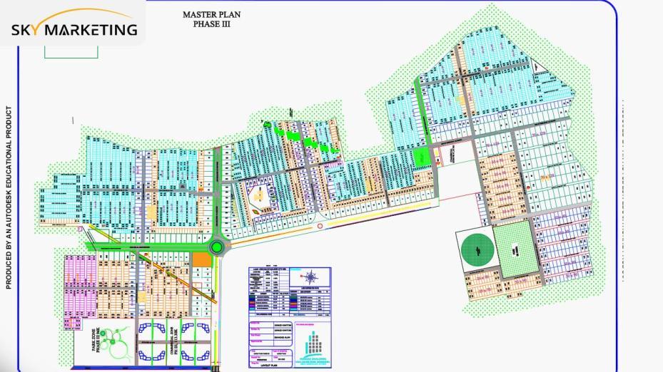 Paradise City Nowshera Master Plan Phase-III