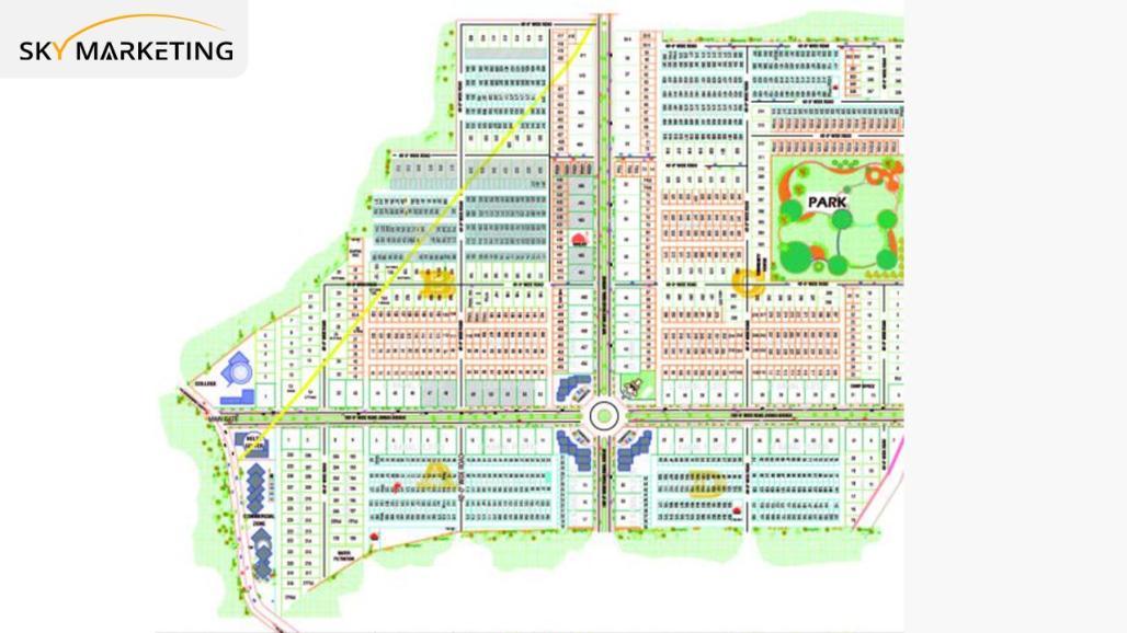 Paradise City Nowshera Master Plan Phase-I