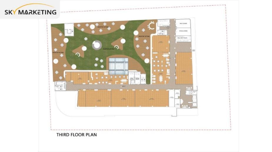 Galaxy Mall Islamabad 3rd Floor Plan