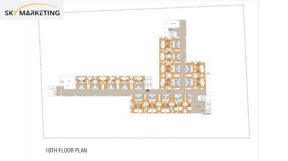 Galaxy Mall Islamabad 10th Floor Plan